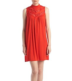 AGB® Lace Shift Dress