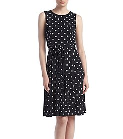 Jessica Howard® Dot Matte Jersey Dress