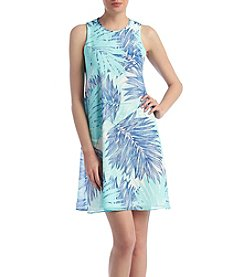 Calvin Klein Tropical Shift Dress