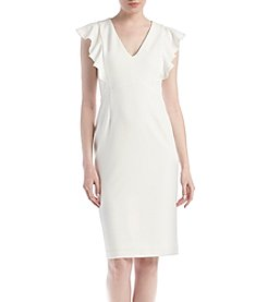 Ivanka Trump® Scuba Crepe Dress