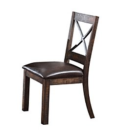 Acme Earvin Set of 2 Side Chairs