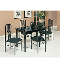 Acme Hudson 5-Piece Pack Dining Set
