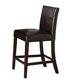 Acme Idris Set of 2 Counter Height Chairs