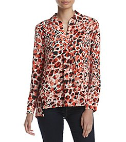Jones New York® Popover Printed Tunic