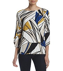 Kasper® Printed Top