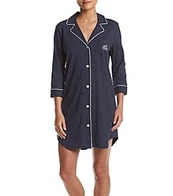 Lauren Ralph Lauren® Dotted Sleep Shirt