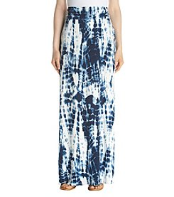Sequin Hearts Tie Dye Maxi Skirt