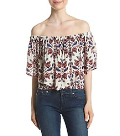 Living Doll® Off Shoulder Popover Top