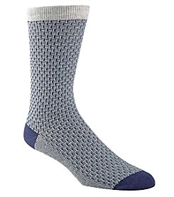 Cole Haan® Men's Dogbone Texture Socks