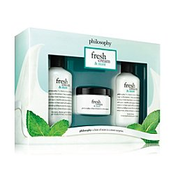 philosophy® Fresh Cream And Mint Trio