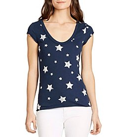 William Rast® Viva Stars Graphic Tee