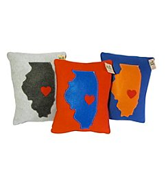 The Happy Groundhog Studio Champaign Pillow