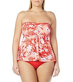 Beach House® Plus Size A-Line Bandini Top