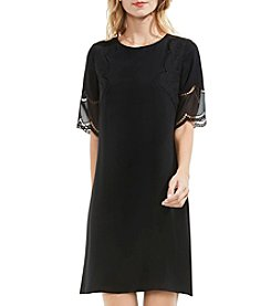 Vince Camuto® Lace Sleeve Shift Dress