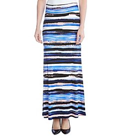 Karen Kane® Painted Stripe Maxi Skirt