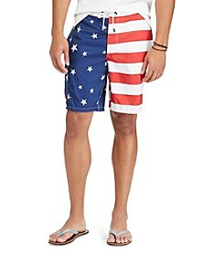 Polo Ralph Lauren® Men's American Flag Swim Trunks