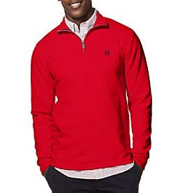 Chaps® Men's Big & Tall Textured Mock Neck Sweater