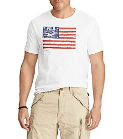 Polo Ralph Lauren® Men's Big & Tall American Flag Tee