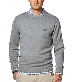 Chaps® Men's Big & Tall Men's Solid Crew Neck Sweater