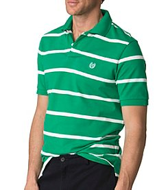 Chaps® Men's Big & Tall Men's Striped Pique Polo Shirt