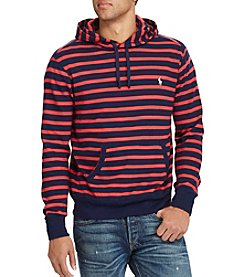 Polo Ralph Lauren® Men's Big & Tall Hooded Striped Pullover