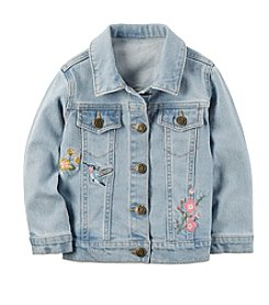Carter's® Girls' 2T-8 Embroidered Long Sleeve Jacket