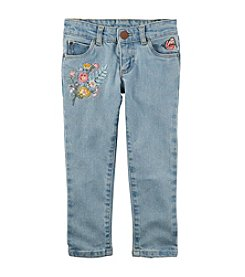 Carter's Girls' 2T-8 Embroidered Jeans