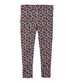 Carter's Girls' 2T-6X Star Smile Heart Leggings