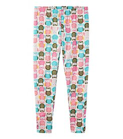 Carter's Girls' 2T-6 Multi Mini Owl Leggings