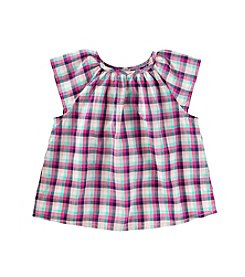 OshKosh B'Gosh® Girls' 2T-4T Floral Flutter Top