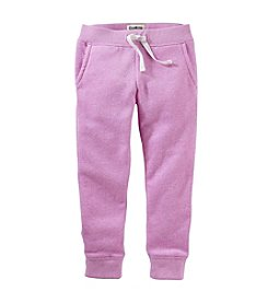 OshKosh B'Gosh® Girls' 2T-8 Logo Drawstring Pants