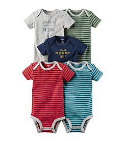 Carter's Baby Boys' 5-Pack Multi Striped Bodysuits