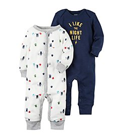 Carter's® Baby Boys' 2-Pack Monster Coveralls