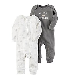Carter's® Baby 2-Pack Elephant Coveralls