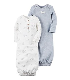 Carter's® Baby Boys' 2-Pack Puppy Gowns