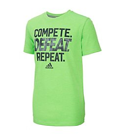 adidas® Boys' 8-20 Compete Defeat Repeat Tee