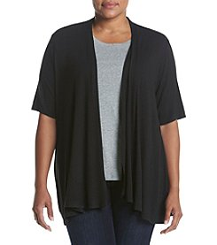Studio Works® Plus Size Open Front Cardigan