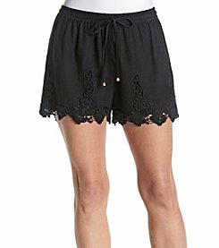 Philosophy by Republic Clothing Crochet Shorts