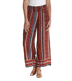 Hippie Laundry Boho Print Soft Pants