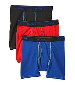Hanes® Boys 3 Pack Ultimate X Temp Boxer Briefs