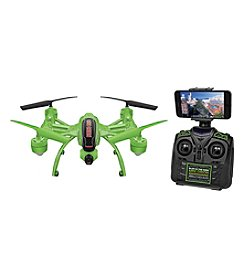 World Tech Toys Mini Orion Glow-in-the-Dark 2.4GHz 4.5CH Live Feed Camera RC Drone