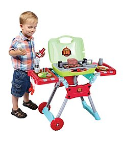 World Tech Toys Kids' 20-Piece Portable BBQ Playset with Light and Sound