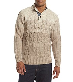 Weatherproof® Men's Cable Knit Sweater