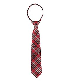 Statements Boys' Zipper Neck Tie