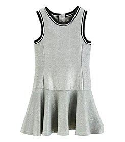 DKNY® Girls' 7-16 French Terry Dress