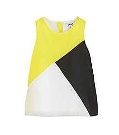 DKNY® Girls' 7-16 Colorblock Tank Top