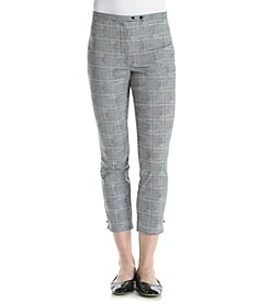 Relativity® Plaid Ankle Pants