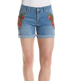 One 5 One® Embroidered Shorts