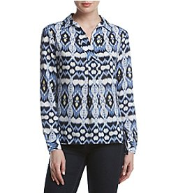 Jones New York® Printed Blouse