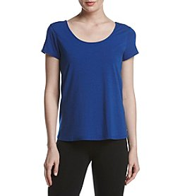 Ivanka Trump® Athleisure Lattice Wrap Tee